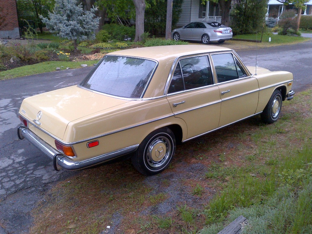 Resurrecting A 1973 Mercedes Builds And Project Cars Forum
